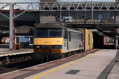 90 044 at Stafford on 2nd July 2007