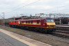 90 039 at Crewe on 30th November 2016