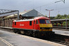 90 018 at Crewe on 19th August 2014  (2)