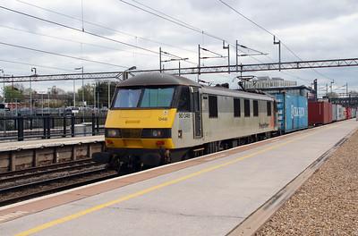 2) 90 048 at Northampton on 18th April 2016