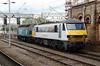 90 014 at Crewe on 18th May 2015 (1)