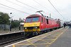 90 036 at Grantham on 14th October 2016