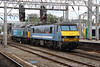 90 011 at Crewe on 20th August 2014 (5)