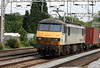 90 045 at Rugeley Trent Valley on 21st May 2007 (2)