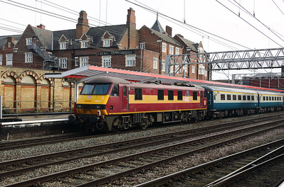 1) 90 037 at Crewe on 4th March 2018