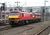 90019 at Crewe on 30th November 2016