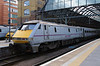 91 129 at London Kings Cross on 3rd March 2015 (3)