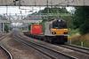92 025 at Acton Bridge on 31st July 2006