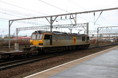 2) 92 036 at Crewe on 31st December 2013