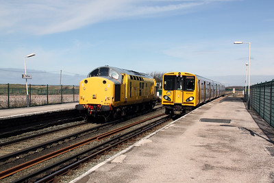 97 301 & 507 025 at Hall Road on 3rd April 2010 (2)