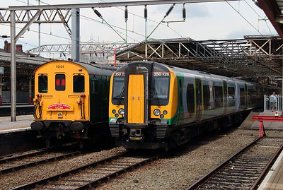 201 001 & 350 126 at Crewe on 12th July 2014 (3)