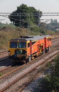 DR 73909 at Acton Bridge on 14th September 2016