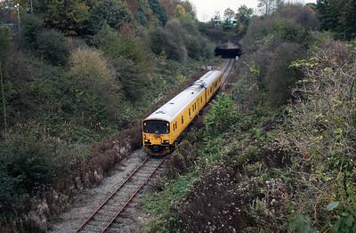 950 001 between Frodsham Jn and Halton Jn on 24th October 2007
