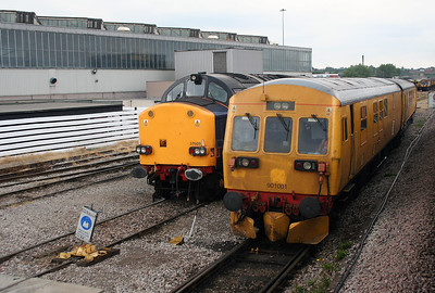 901 001 at Derby RTC on 4th August 2006