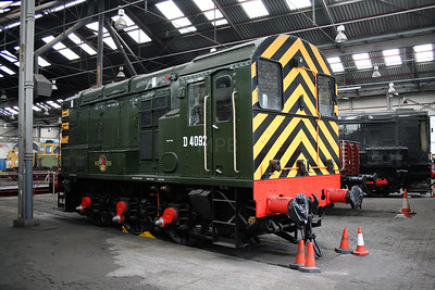 D 4092 at Barrow Hill Museum on 30th June 2007