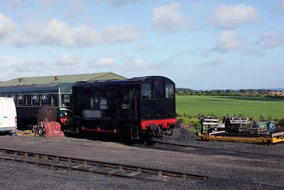 1) 12131 at Weybourne on 9th June 2017