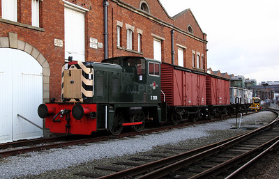 2) D2868 at Manchester Museum of Science & Industry on 3rd January 2012