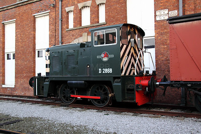 1) D2868 at Manchester Museum of Science & Industry on 3rd January 2012