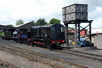 3) 12131 at Weybourne on 9th June 2017