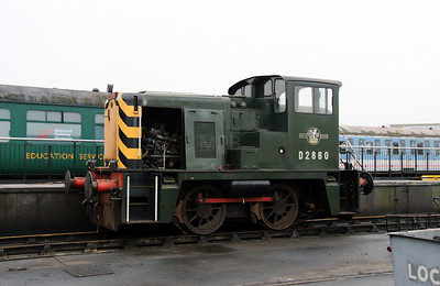 1) D2860 at York NRM on 8th March 2013