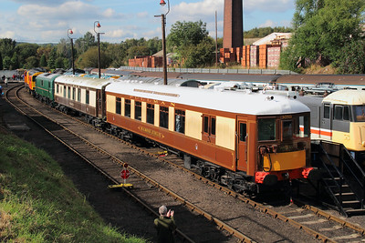 3050 at Barrow Hill on 22nd September 2012