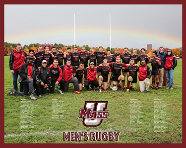 UMASS RUGBY - Team Poster - New