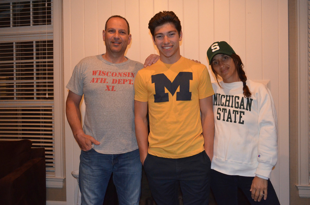 """. \""""A house divided.\"""" Photo submitted by Marilyn Dadian"""