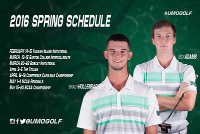 Men - Spring Schedule S16
