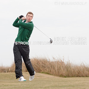 Men - Stroke Average Award Winner 15-16