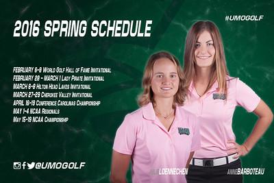 Women - Spring Schedule S16