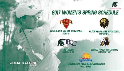 Women - Spring Schedule S17
