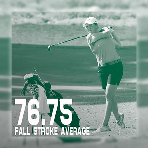 Women - Stroke Average - F16 Julia Kaeding