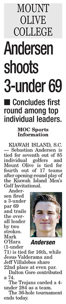 Kiawah Island September 2013 - Men