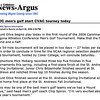 Goldsboro News-Argus | Sports: MOC men's golf start CVAC tourney today