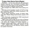 Barton Intercollegiate March 2018