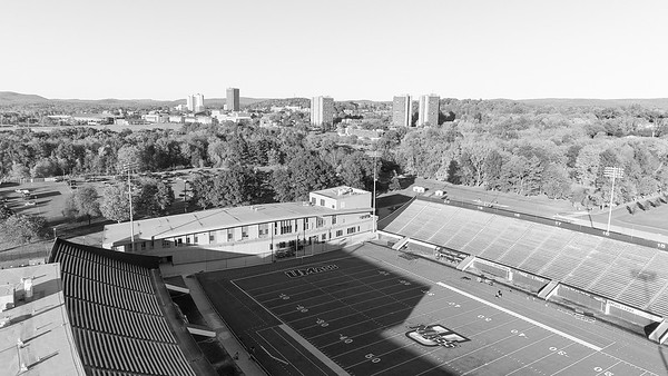 Drone - UMASS Rugby - October 20_2017 IMG_0028 B&W