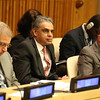 United Nations Ambassador Syed Akbaruddin  at the 70th  Anniversary of ECOSOFT at United Nations on Friday ...pic Mohammed Jaffer-Snapsindia