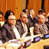 United Nations Ambassador Syed Akbaruddin  at the 70th  Anniversary of ECOSOFT at United Nations on Friday ...pic Mohammed Jaffer-Snapsindia