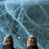 Standing on top of a frozen Lake Hoare, Antarctica.  (Photo/Joe Pettit, UNAVCO)