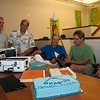 On Friday, July 25, 2014, UNAVCO bid farewell to TI-4100 UN01 before it's Monday departure to the Smithsonian Museum of American History. (Photo/Beth Bartel)