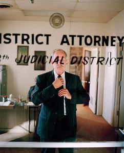 USA. Texas. 2000.  Huntsville District Attorney.