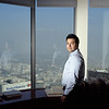 USA. Los Angeles, Ca. October, 2008. Robert COWAN, 28 years old, real estate attorney. The son of an immigrant from Guatemala who managed her family without government assistance, he believes that the government should cut down on welfare.  This combined with his strong religious beliefs made him a supporter of John McCain.
