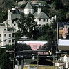 USA. California. Hollywood. 1999. The Chateau Marmont in the heart of West Hollywood/ Sunset Strip/ Sunset Plaza.
