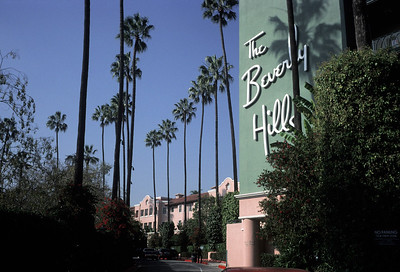 USA. California. Hollywood. 1999. At the Beverly Hills Hotel.