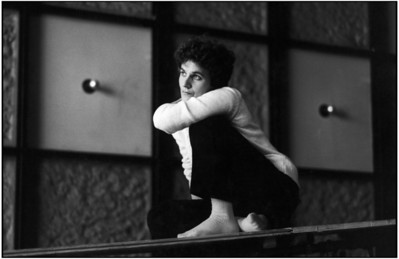 """French Théâtre du Soleil director Ariane MNOUCHKINE during the rehearsal of """"Les Clowns""""."""