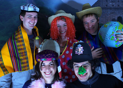 International Potluck & Photo Party, December 2010