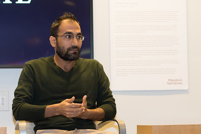 Zubair '18, a current UNC student featured in Carolina Connections, discusses his experience as a Syrian refugee in North Carolina.