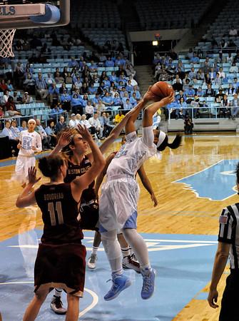 UNC Women's Basketball vs Boston College 02-01-15