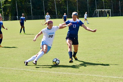 UNC Womens Soccer 09/30/17