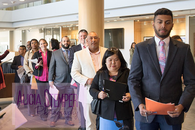Naturalization Ceremony at UNC's Fed Ex Global Center 2017